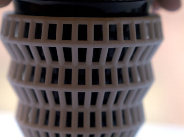 Wireframe Espresso Cup (Inner Ceramic Cup) 3d printed