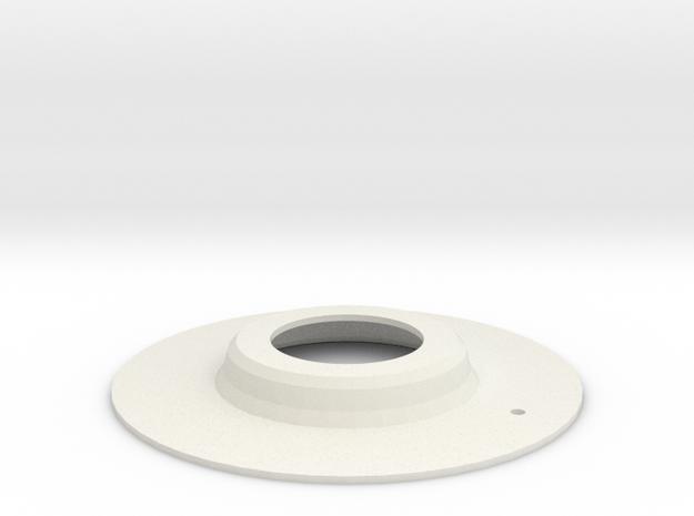 WindowCrank_Gasket in White Natural Versatile Plastic
