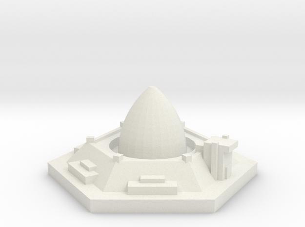 silo misiles 1 in White Natural Versatile Plastic
