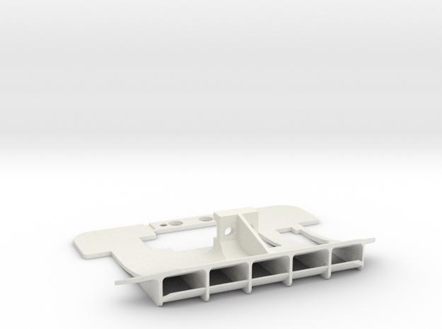 Mini-Z McLaren rear diffuser for PN motor mount in White Natural Versatile Plastic