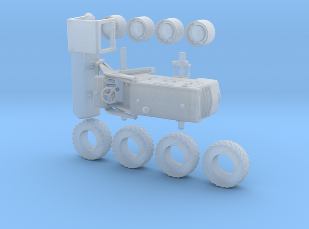 Michigan 175A Loader, HO scale in Smooth Fine Detail Plastic