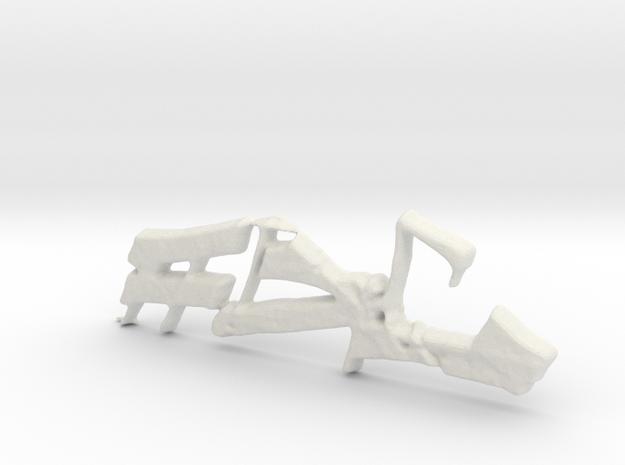 Alpha3rd in White Natural Versatile Plastic