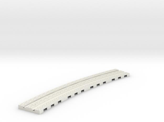 P-12stw-2r-i-curve-1a in White Natural Versatile Plastic