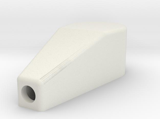 Car Luggage holder (female) in White Natural Versatile Plastic