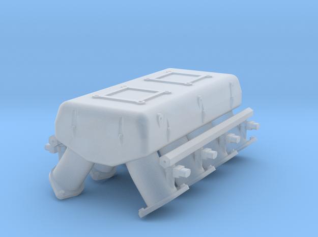 LS3 1/24 dual carb intake w/injectors