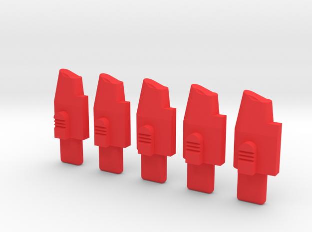 ppq bb follower 5 in Red Processed Versatile Plastic