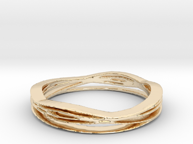Boss1 Ring Size 8 in 14K Yellow Gold
