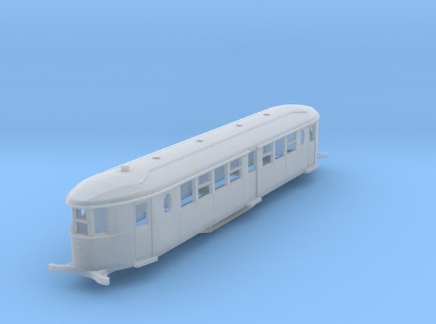 o-152-sr-sent-cammell-railbus in Smooth Fine Detail Plastic