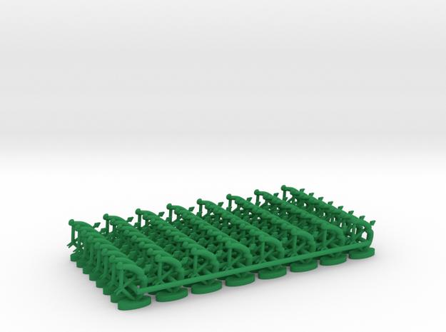 Play Figure Elves / Arrow / Bow in Green Processed Versatile Plastic