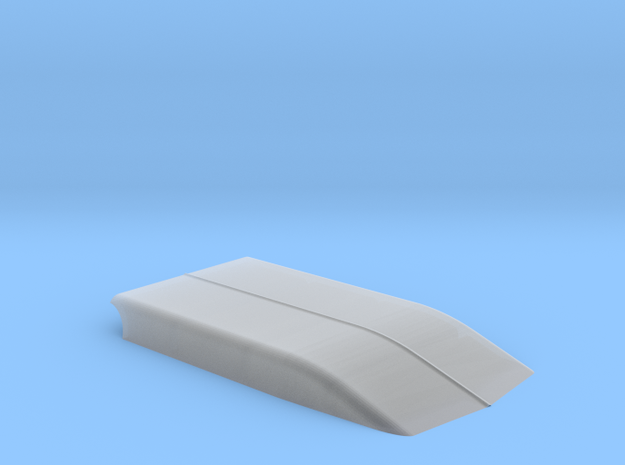 4 INCH COWL in Smooth Fine Detail Plastic