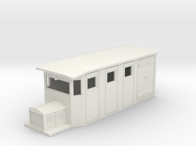 Hon30/009 SR&RL style 4w combine railcar