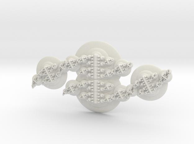 Propagation in White Natural Versatile Plastic