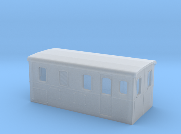 HOm Electric Boxcab Locomotive (Isabelle1) in Smoothest Fine Detail Plastic