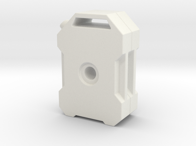 TRX-4 double can in White Natural Versatile Plastic