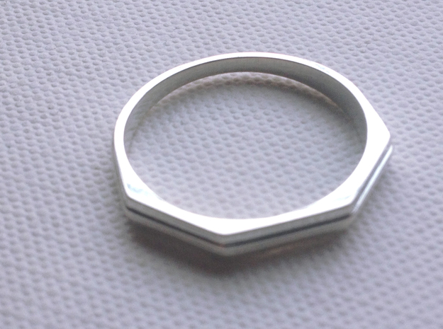 Jean Ring in Polished Silver