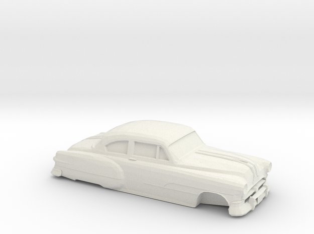 1/32 Pontiac Chieftan Coupe in White Natural Versatile Plastic