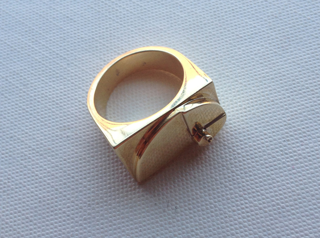 Golden Ratio Ring
