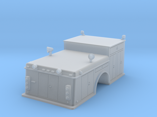 Rescue Truck 1-64 Scale in Smooth Fine Detail Plastic