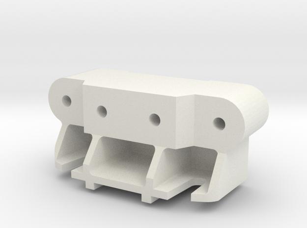 Reinforced A5 Tamiya Terra Scorcher Thundershot in White Natural Versatile Plastic