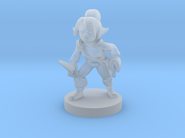 Gnome  Female  Rogue in Frosted Ultra Detail
