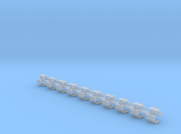 ATC Balisen 40erSet - H0 1:87 in Smooth Fine Detail Plastic