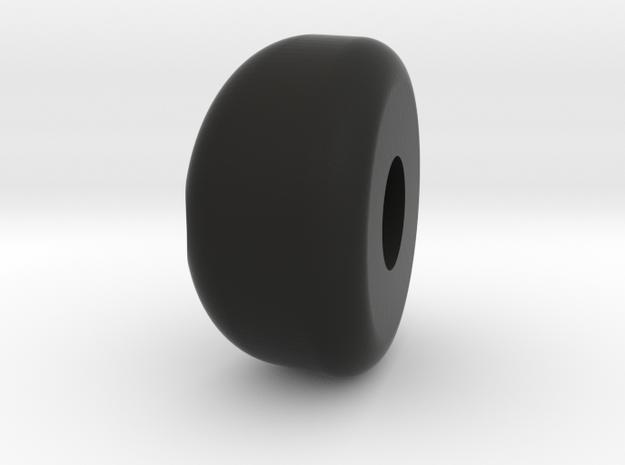 DENIS STOEL KNOOP 1 (2x) in Black Natural Versatile Plastic