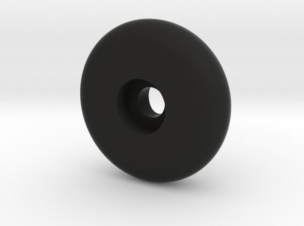 DENIS STOEL KNOOP 2 (2x) in Black Natural Versatile Plastic