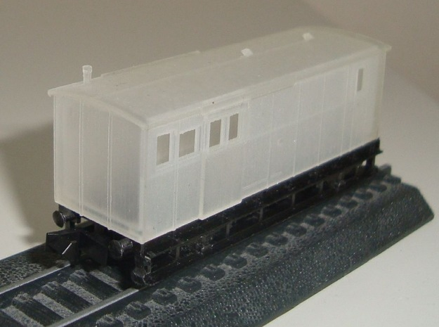 DSB Litra Eh in Smooth Fine Detail Plastic