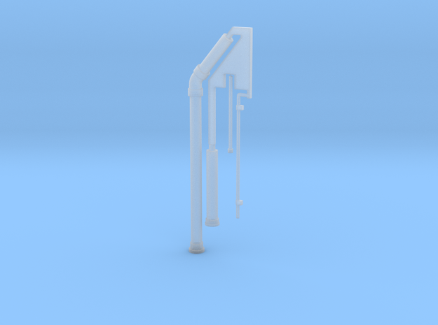 plumbing stack in Smoothest Fine Detail Plastic