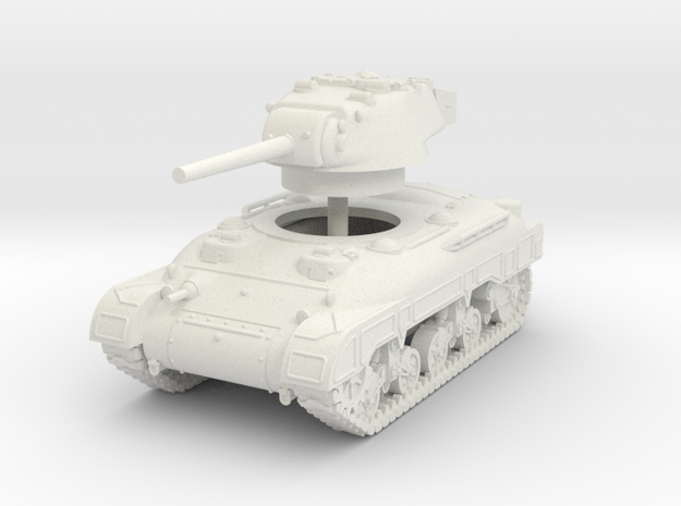 1/72 M7 Medium Tank in White Natural Versatile Plastic