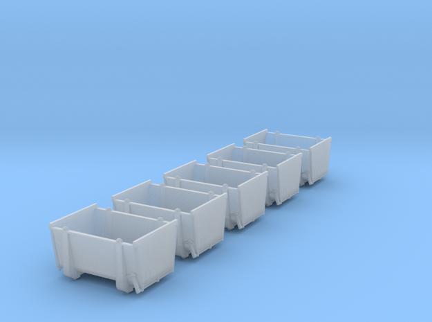 pa-Behälter Eokrt DB 5x in Smooth Fine Detail Plastic