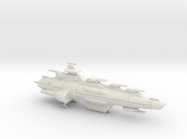 Maeve-class Battlecruiser in White Strong & Flexible