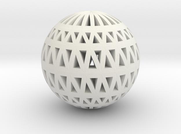 Polar Lamp Pendant II in White Natural Versatile Plastic