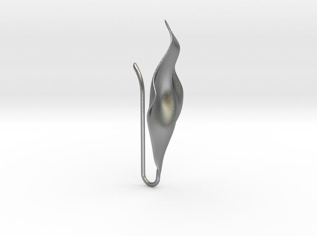 PETAL_hook_04 in Natural Silver