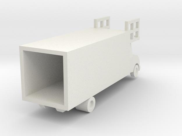 Food Trucks in White Natural Versatile Plastic: Small