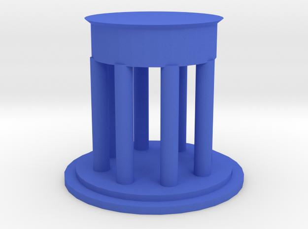 "3"" Diameter Personal Dedman Law Graduation Gift in Blue Processed Versatile Plastic"