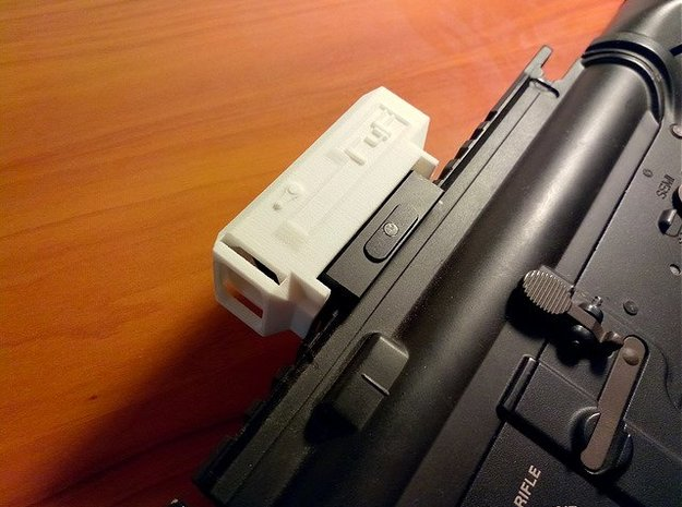 R4F Reflex Sight Cover for Micro Red Dot Sight in White Natural Versatile Plastic