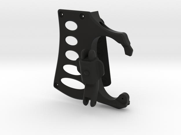 ARROW - Season 6 Bow Carabiner (3-piece) in Black Natural Versatile Plastic