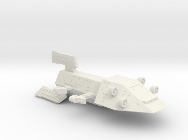 3788 Scale Kzinti Drone Cruiser SRZ in White Strong & Flexible