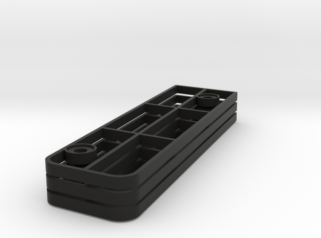 Mazda MX-5 (ND) Gas Pedal Height Adjust Plates in Black Natural Versatile Plastic