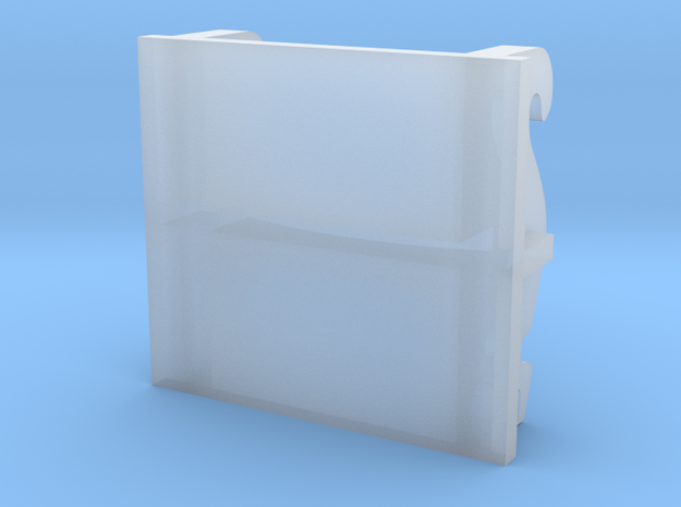 adapterplaat cw30 2 in Smooth Fine Detail Plastic