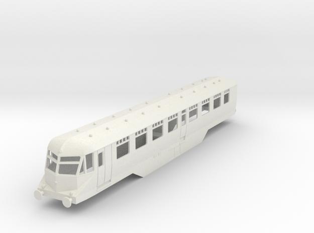 0-76-gwr-railcar-35-37-1a in White Natural Versatile Plastic