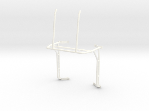 Roll cage 1/12 V5 in White Processed Versatile Plastic