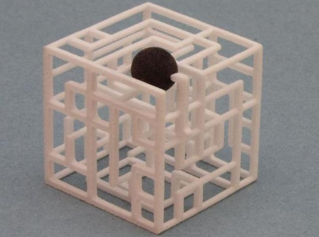 Zig Zag Zog 2-pack 555 3d printed Ball at Exit