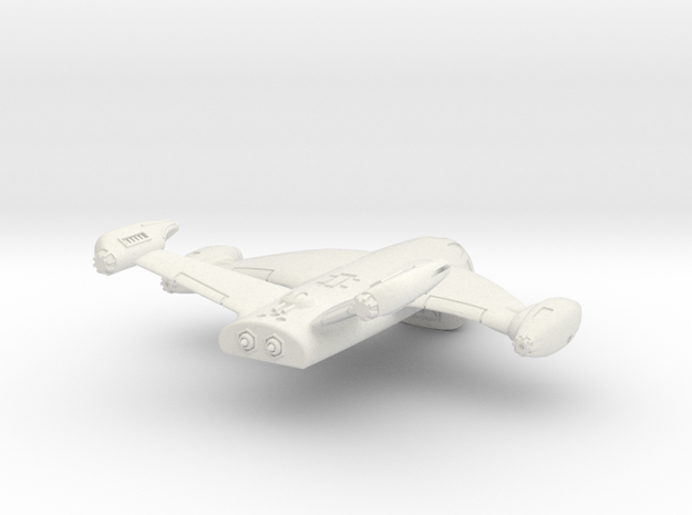 1/285 Royal EmpireCygnus Transport in White Natural Versatile Plastic