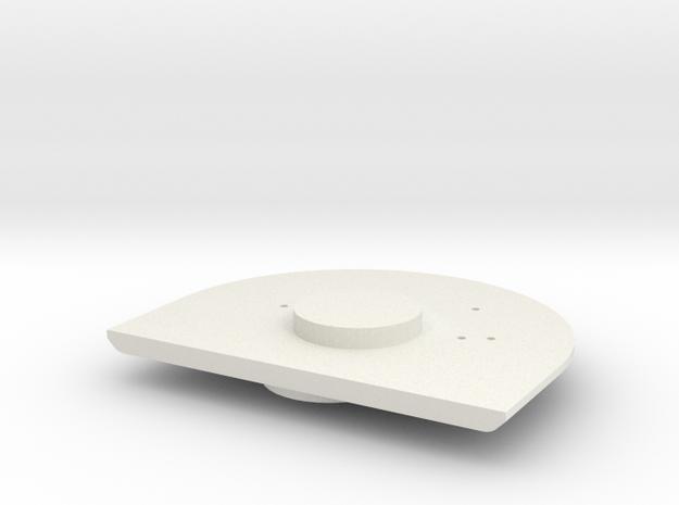 Gauge 3 Neilson Firebox backhead in White Strong & Flexible