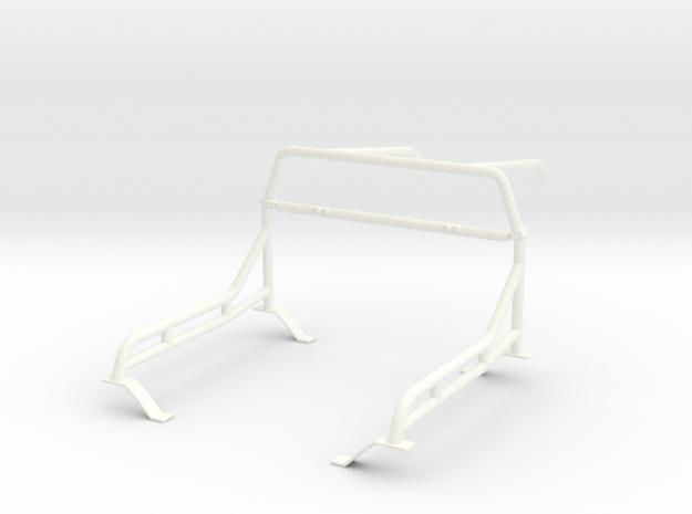 Roll cage 1/18 V5 in White Processed Versatile Plastic