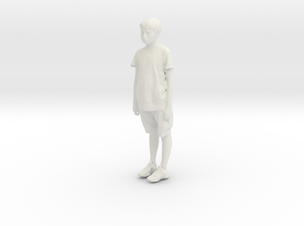 Printle C Kid 223 - 1/32 - wob in White Natural Versatile Plastic