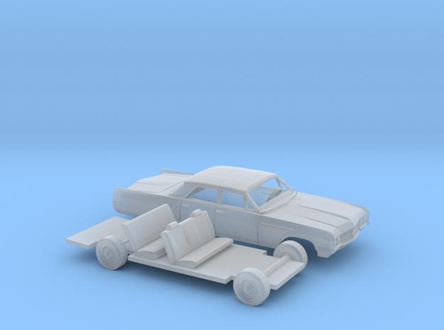 1/87 1964 Buick Electra Sedan Kit in Smooth Fine Detail Plastic