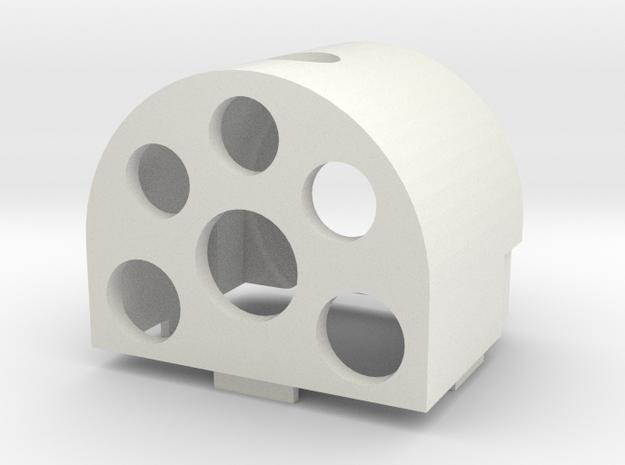 Gauge 3 Neilson Firebox in White Strong & Flexible